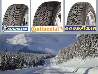 185/65 R15 anvelope premium (Continental, Michelin, Goodyear)