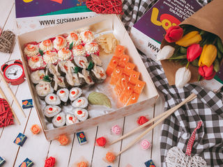 "Sushi Box ""Love is"""