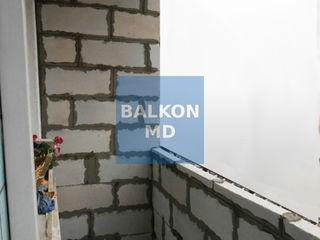 Хотите новый балкон? Мы знаем об этом всё! Ремонт балкона, расширение всех серий, кладка под окна