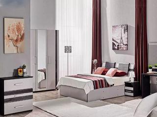 Dormitor Ambianta Fenix (Gri), preț avantajos !!