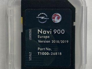 GPS Navigatie Opel Navi 900/600 SD Card Map Europa 2018-2019