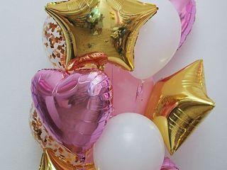 Baloane cu heliu de la 16 lei! Шары с гелием от 16 лей! Небесные фонарики. Cifre cu heliu! Decor!