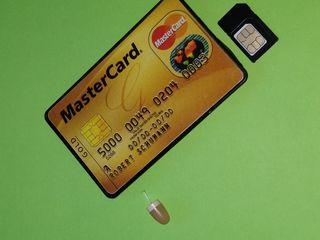 Microcasti cu sticker bluetooth sau card GSM / Микронаушники беспроводные /
