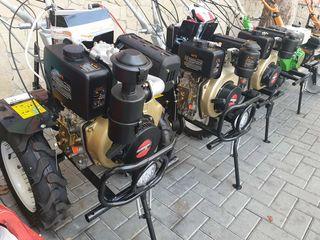 Motocultoare DIESEL 7 si 9 CP! Starter electric si manual! Garantie 2 ani / De la 11500 lei