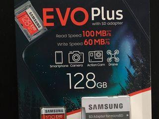 MicroSD 128 GB Samsung EVO Plus! Originala