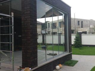 Construcții glisante cu sticlă securizata(calita), pentru terasa, balcoane
