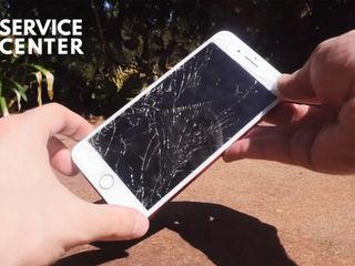 Iphone 8/8+   Треснуло стекло -заберём, починим, привезём !!!