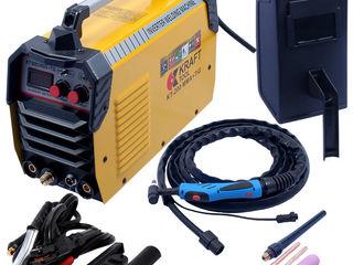 Aparat de sudură Kraft Tool KT200MMA+TIG - garantie 1 an - livrare gratuita!!credit-agroteh