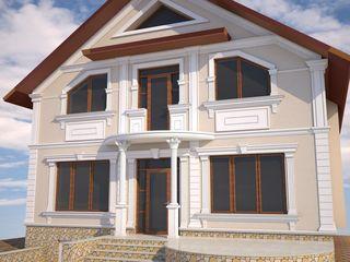 Lucrări de fațade la casă cu www.fasad.casa ! producem elemente decorative