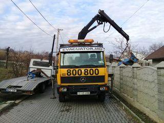 Evacuator Chisinau / Evacuator Pruncu-Cricova-Magdacesti-Dumbrava-Truseni