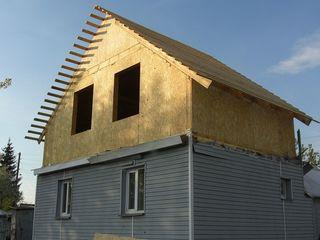 Пристройки, мансарды, дополнительные этажи, увеличение площади жилья и помещени из сип панелей!