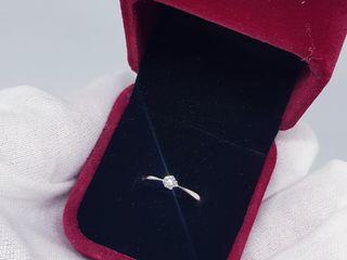 Inel Nou cu Diamant Masa 0.10 Carate!