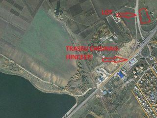 Vind teren p/u constructie linga traseu Chisinau-Hincesti. Urgent!