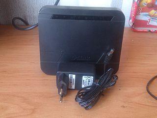 Роутер WI-FI DIR-300 DIR-300 - 150 лей весь комплект блок питания провод коробка документы диск