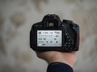 Canon 650d kit (5000 de cadre)