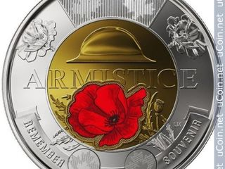 Юбилейные монеты Канады