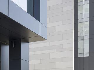 Композитный фасад, fatade placate cu material compozit