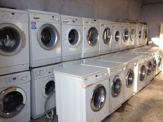 Стиральные машины, холодильники, сушки, посудомойки из Германии от 2000 лей. Б/У.