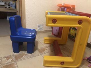 Masa si scaunel Chicco in stare buna