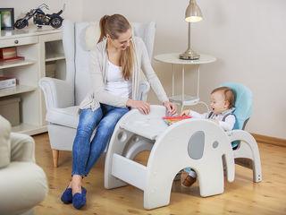 Scaun de luat masa & set masa+scaun Lionelo