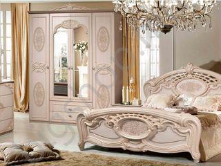 Dormitor KMK Rozalia (stejar laptos) calitate inalta!  Reduceri!