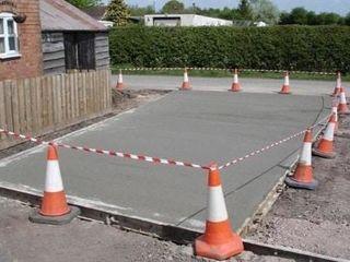 Заливка парковочных мест,бетонирование