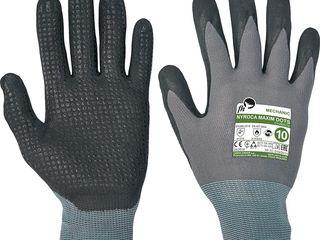 Перчатки nyroca maxim dots fh с нитриловым покрытием