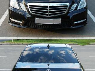 Mercedes E Class 75 euro (1500 lei) ziua sau 250 lei ora
