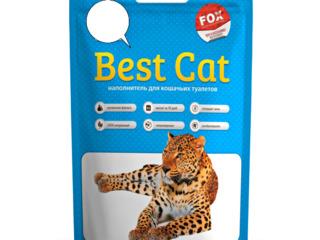 """"""" Best Cat """", силикагелевый наполнитель, c доставкой по Кишиневу и Молдове."""