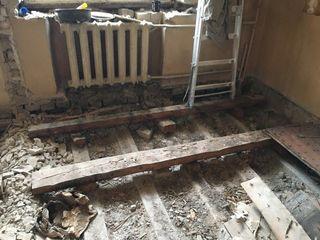 Demolare/демонтаж  case/pereți/stească/podele