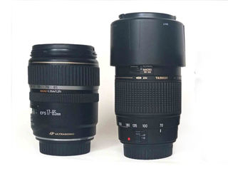 Canon 17-85mm, Tamron 70-300mm/для Canon