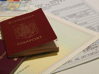Румынский парспорт/Румынский булетинь (удостоверение личности) просто и быстро!