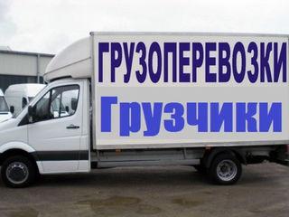 Transport de mărfuri la comandă 24/7 грузоперевозки, грузщики gruzoperevozki-express!!!