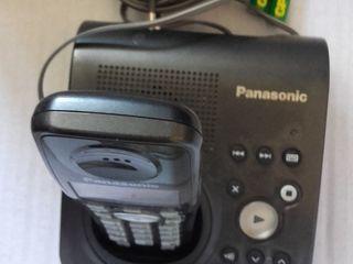 стационарный беспроводной переносной телефон Панасоник.