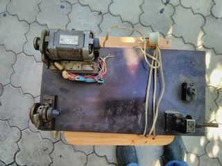электрическое, перемоточное устройство, для перемотки на шпульку: тонкого провода, изоляции, ниток,