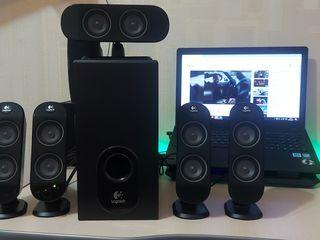 Sistem acustic Logitech 5.1