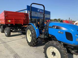 Se vinde Tractor Leus R36i  si Remorca Polazoglu cu doua axe basculabila in 3 parti!!!