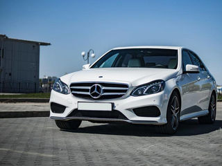 Mercedes-benz alb/negru, chirie auto Nunta