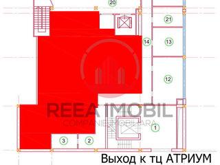 Spatiu comercial spre chirie - 131m.p in centru comercial UNO ( Bonus / JYSK )