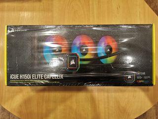 Corsair Icue H150I Elite Capellix,Corsair HD140 RGB Новые - 800 Лей