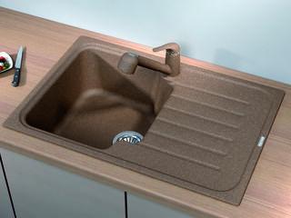 Раковина для кухни, Бренд: (Florentina), Модель (TAIS-760). Напрямую от импортера. Гарантия