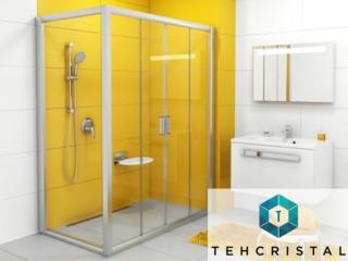 Reducere de 10% pentru cabinele de duș standard din sticlă! Tehcristal realizat în Franța!