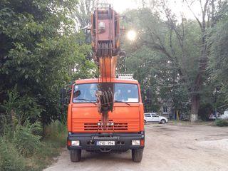 Servicii automacara macara cran кран автокран Услуги автокранов