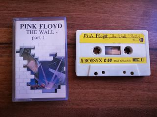 Pink floyd THE WALL Cassette for Deck