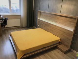 Дизайнерская кровать + матрас