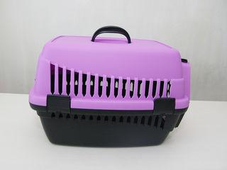 Бесплатная доставка! Переноска для кошек, собак, кроликов. Красивые пастельные цвета. Новая. 250 лей