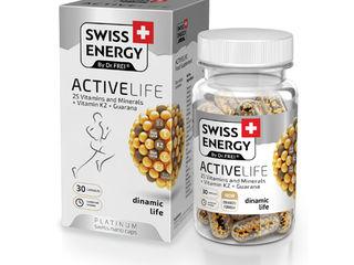Vitamine Swiss Energy - Un mod sănătos de viață!