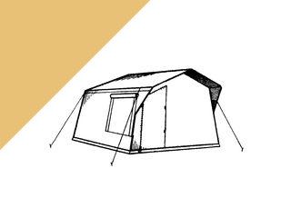 Палатка 3-х местная польская, и/с.