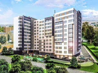 Buiucani, Complexul Locativ Paris Residence. Apartament de 40.7 m2