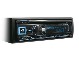 Звук Премиум Класса - Процессорная Магнитола ALPINE CDE-193BT с bluetooth